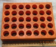 System 3R toolholder storage rack 35 toolholder positions 20mm location holes used
