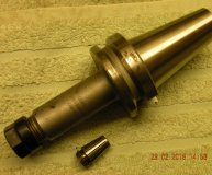 Gewefa BT40 ER16 Collet holder 1500-1408-00 GEWA3 unused