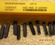 x10 Kennametal A4G0505M05U08GMN KCP10 Carbide Parting Grooving inserts new