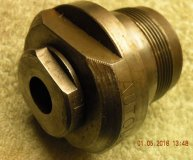 Clarkson large collet reduction locknut for large Autolock collet chuck S-Type large to small collet lock nut used