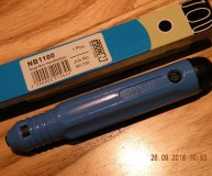 Noga deburring tool NB1100 handle blue Noga burr Noga bur with 1 blade S10 new