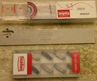 Tungaloy Parting blade CGP26-4S plus x10 inserts DGS4-030 AH725 new