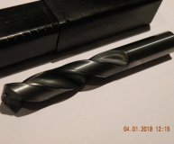 14mm solid carbide drill Tialn coated through coolant new