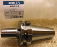 Haimer BT40 Power Shrink fit chuck for 8mm tools 40.645.08.3 Brand new