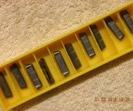 x10 Kennametal A4R0500M05P00GMP KC5010 Carbide Parting Grooving inserts new