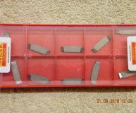 x10 Sandvik N123E2-0200-R0 H13A Carbide Parting Grooving inserts new