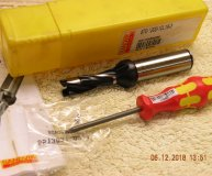 Sandvik 12mm Spade Drill 870-1200-10L16-3 12mm indexable drill new
