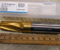 Posithread Solid carbide thread mill 11.5NPT PTC2 TMRX 20 199 L33 New