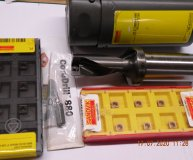Sandvik 18mm U Drill 880-D1800L25-02 2xD plus 20 inserts Central and Peripheral torx bit New