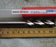 12mm COBALT END MILL HSSCo8 M42 4 FLUTED 3072021200 EUROPA TOOL CLARKSON  9