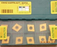 x10 Walter CNHQ 1608PPN-A57T WAP35 carbide inserts new
