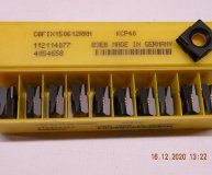 x10 Kennametal C8FIX150612RRN KCP40 Carbide inserts Fix Perfect carbide 8 sided