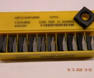 x10 Kennametal C8FIX180812RRN KCP40 Carbide inserts Fix Perfect carbide sq box