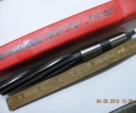 Cleveland 23/32 inch machine reamer no2 morse taper shank 2mt HSS new