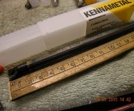 Kennametal E10M SCLPR 06A 10mm solid carbide boring bar new