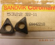 x1 off Sandvik shim seating 5322 322-11 for lathe threading tool new
