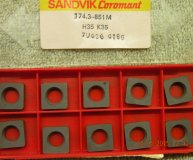 x10 off Sandvik shim seatings 174.3-851M suits SNMG 12 lathe toolholders new