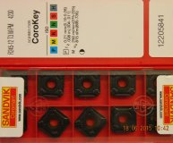 x10 Sandvik R245-12T3M-PM 4230 carbide milling inserts new