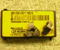 x2 Horn 308.0343.0517 MG12 Carbide inserts form milling new
