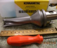 Kennametal 25mm (25-27mm) u drill KM50 DFT 250R3M Kind Drill fix 25.0 3xD new