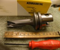 Kennametal 20mm u drill KM50 DFR 200R3M Drill fix 20.0 3xD new