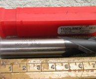 Toolmex 16mm ballnosed slot drill Cobalt M42 TicN coated new