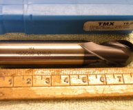 Toolmex TMX 16mm ballnosed slot drill Cobalt M42 Tialn coated new