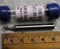 Toolmex 4mm ballnosed slot drill Cobalt M42 new