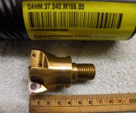 Horn DAHM 37.040.M166.05 40mm indexable milling cutter high feed mill Modular M16 thread new