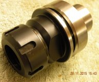 ER32 collet chuck HSK63F for CNC Routers woodworking machines etc new