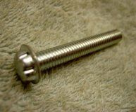 x95 TAMPER PROOF SCREWS.SYSTEM ZERO(RS 526-754) M6 X 40