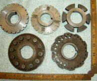 J & S GRINDER SPARES x4 INDEXING PLATES