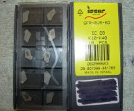 x10 ISCAR GROOVING PARTING CARBIDE INSERTS GFR 2JS-6D IC28 K10-K40 NEW