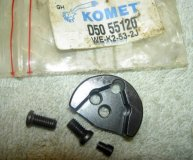 KOMET U-DRILL INSERT SPARE SEATING D50 55120 (WE-K2-53-2J) SEAT x2 SCREWS & PIN