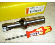 Sandvik 20mm U Drill 880-D2000L25-02 2xD through coolant new