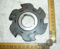 WIDIA WIDAX 100MM INDEXABLE SIDE & FACE MILLING CUTTER N3-14-2F 14MM WIDE VGC