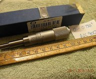 MOORE & WRIGHT 0-0.75 MICROMETER HEAD NS900 0.001 INCREMENTS 6.8MM ANVIL NEW