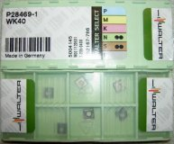 x10 WALTER CARBIDE INSERTS P28469-1 WK40 NEW