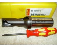 SANDVIK 22mm U Drill 880-D2200L25-02 2xD through coolant new