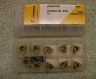 x10 KENNAMETAL CARBIDE INSERTS WOEJ 090512SRHD KC725M NEW